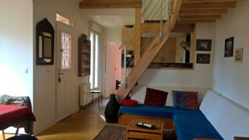 Maison avec jardinet a 30 mn du centre de Paris
