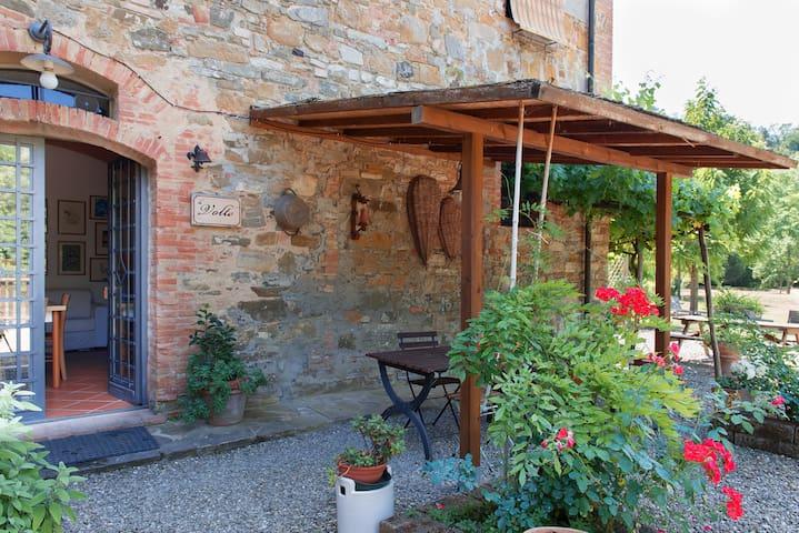 Molino di Amarrante  LE VOLTE - Montaione - Apartment