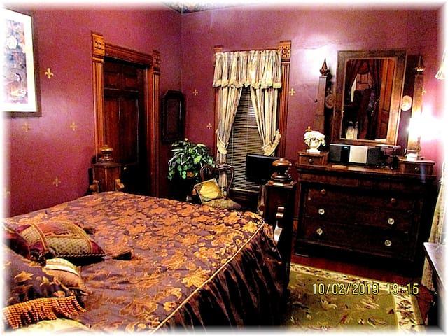 Claude Carter Bedroom