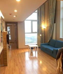 地铁旁的北欧阳光公寓 交通便捷 视野开阔(下层) - Tianjin - Wohnung