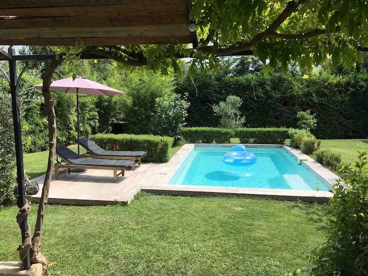 Maison entre mer et colline de Provence