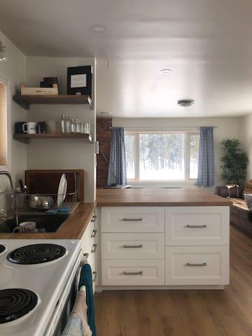 Nemaska Baie James : a room in a lovely house