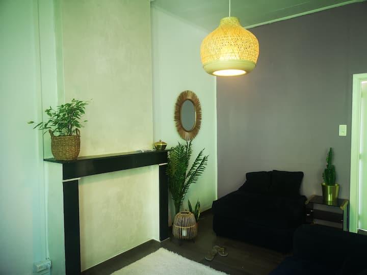 Appartement confortable et lumineux à Mons centre.