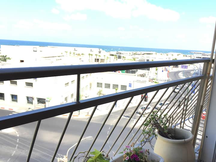 Amazing sea view! by the Sea and  Tel Aviv Port