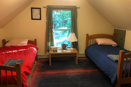 Heartwood Farmhouse Third Floor Bunk Room #1