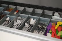 Sufficient cutlery is provided for approximately 12-15 pax.