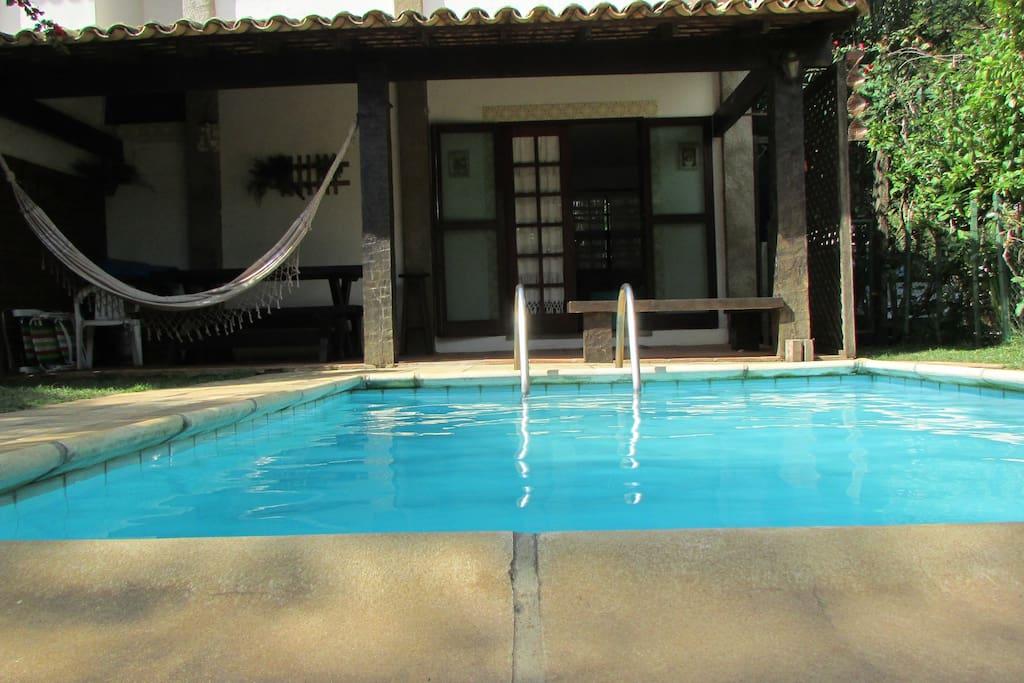 piscina - quintal casa
