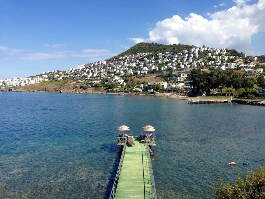 Seaside 7 minutes by walking distance