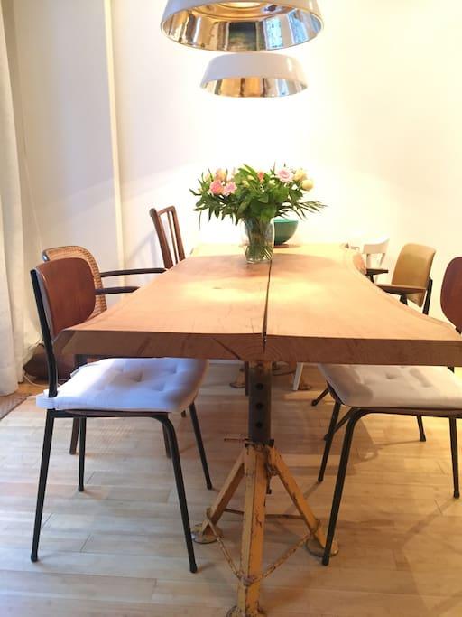 Design tabel