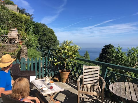 Apartment with sea views in Lynton