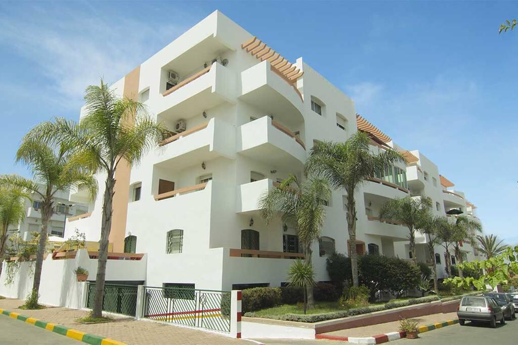 résidence avec parking sous terrain sécurisé