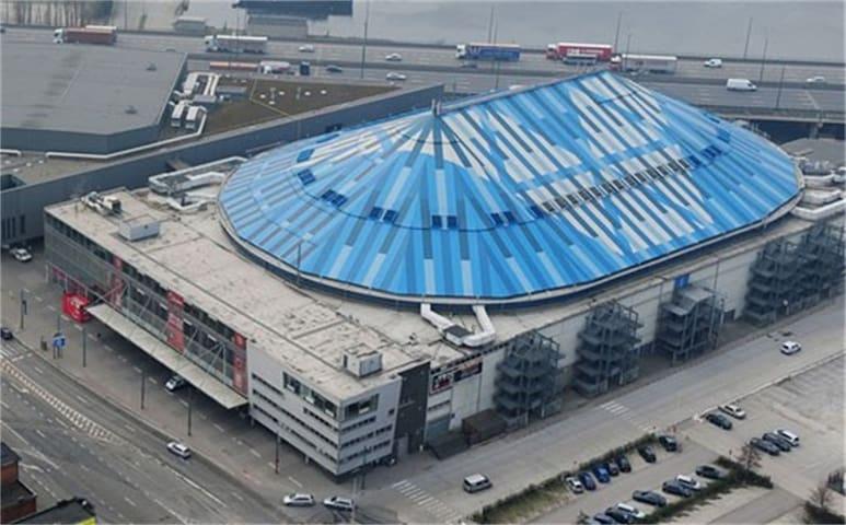 Sportpaleis- Antwerp ( Deurne) - Antwerpen - Hus