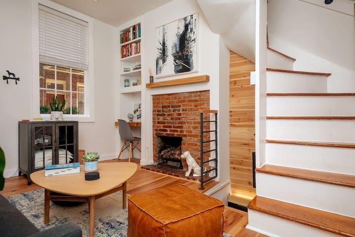 Living room (view from patio door)