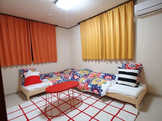 room1 = 2 bed room
