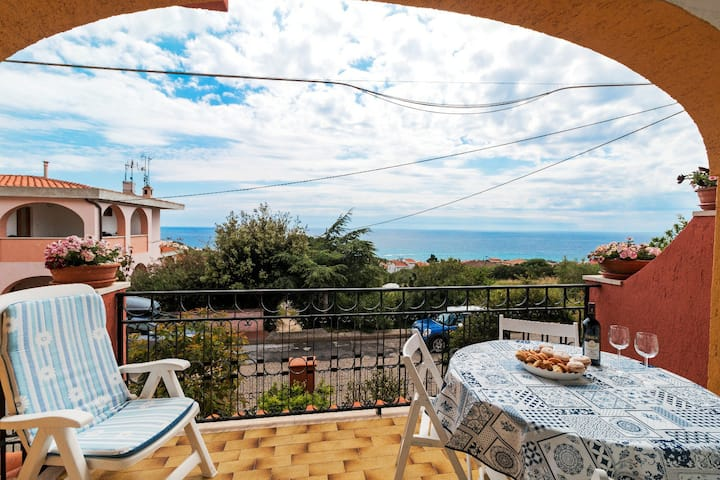 The Wind Rose -panoramic apartment in Cala Gonone