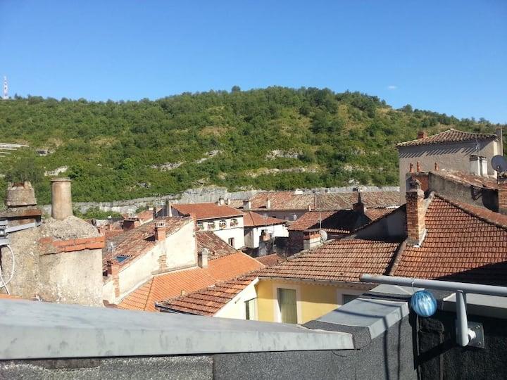 Appartement Cosy, Terrasse sur le toit