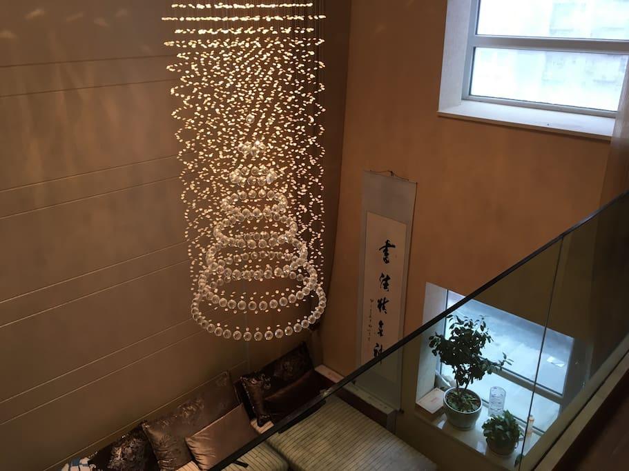 豪华水晶吊灯