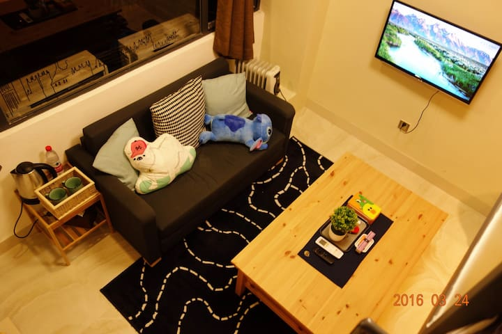 Microapt in city central, 5min->MTR - Guangzhou - Apartamento