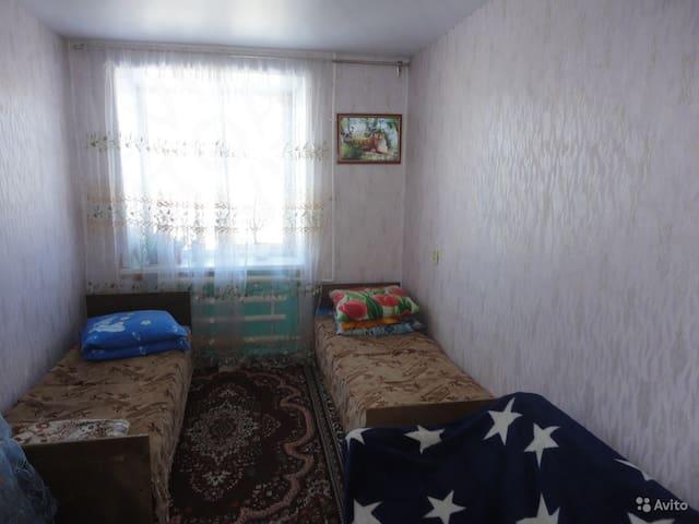 комната с 4 спальными местами