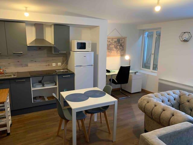 Appartement Baccarat 45 m²