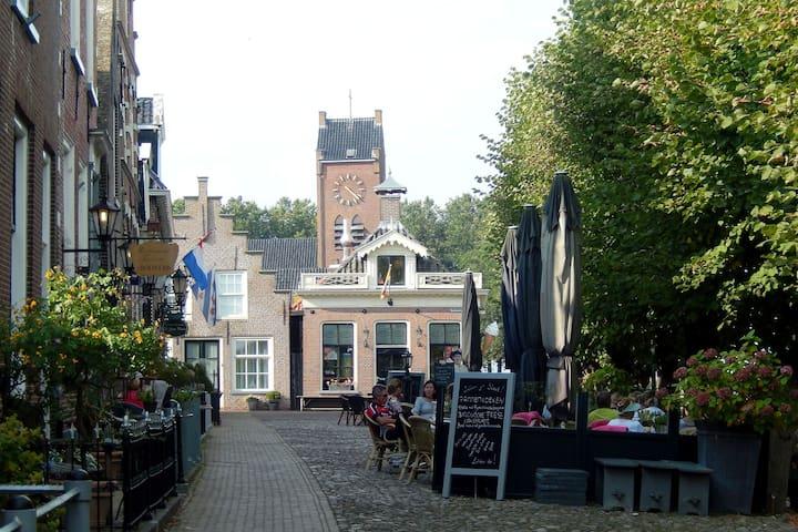 Bellissimo appartamento in Occidente Frisia Sondel.