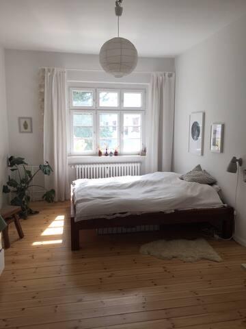 Helles schönes Zimmer in Berlin Steglitz