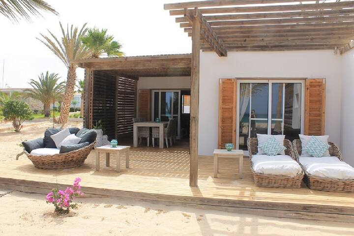 House on the beach, ocea view, Boa Vista CV