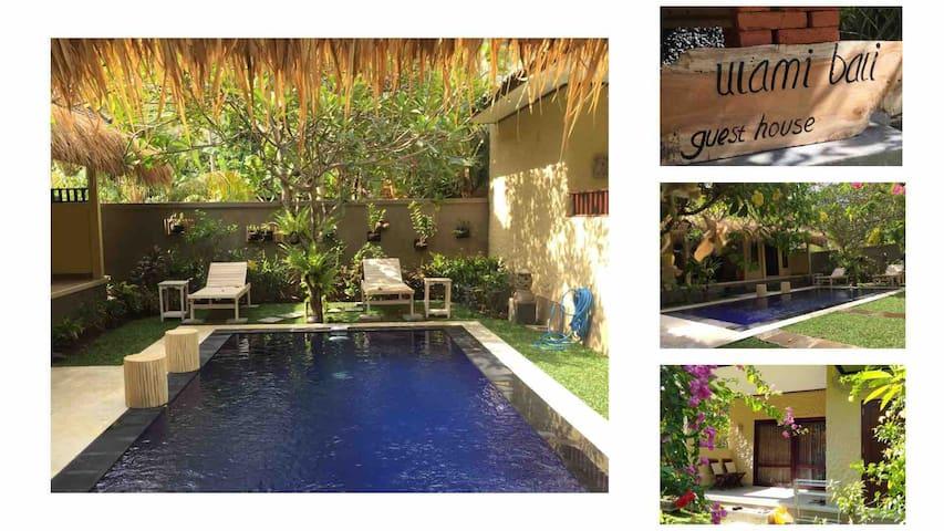 Ulami Bali Guesthouse - Mola Mola Garden View