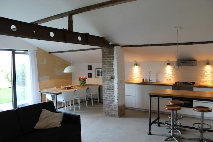 Atmospheric farmhouse, Maastricht - Maastricht - Flat