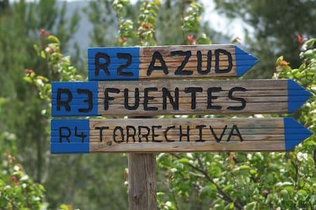 Vivienda tradicional rural, Sierra Espadán, Ayódar