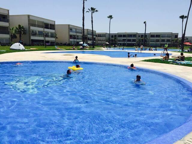 Résidence Ola Blanca - Sidi Rahal - Apartemen
