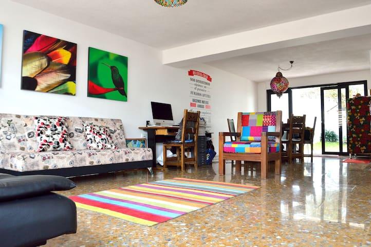 """Casa Paraíso """"Salón de los loros"""""""