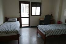 Bedroom 2 (single beds)