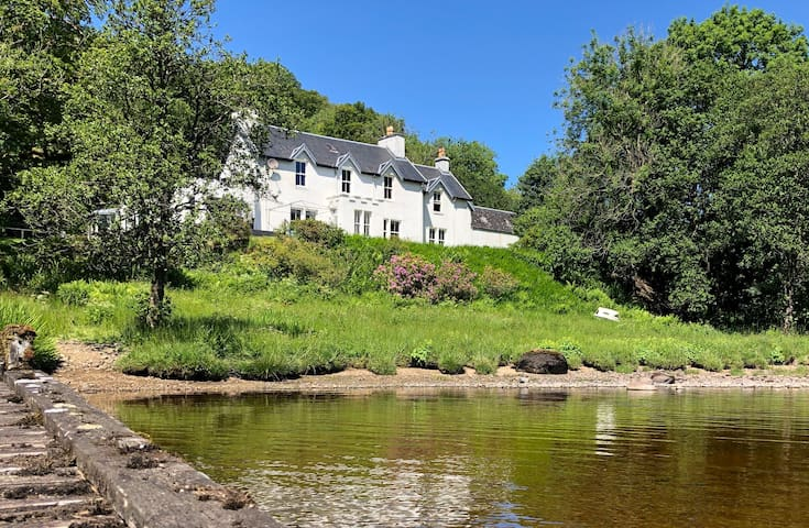 5 bed country house set in 26 acres on Loch Awe