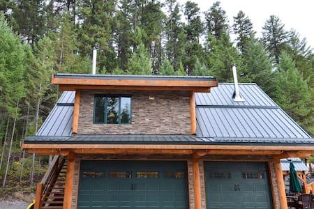Golden Acres Mountain Lodge - loft.