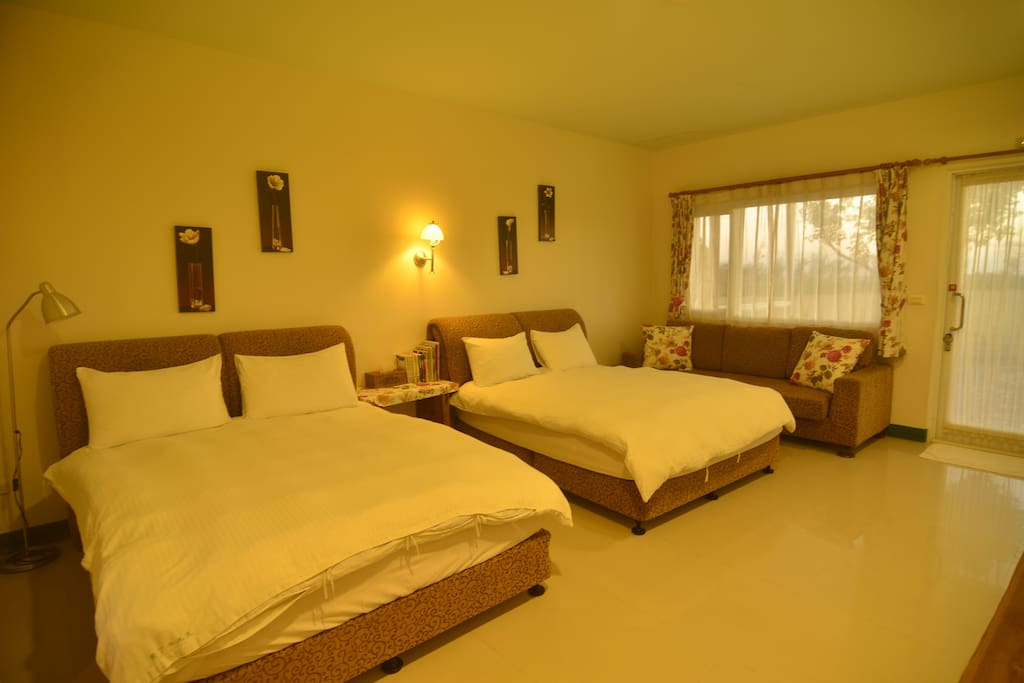 四人房 兩張雙人床