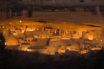 Nationally renowned Mesa Verde cliff dwellings only 60 mins. away