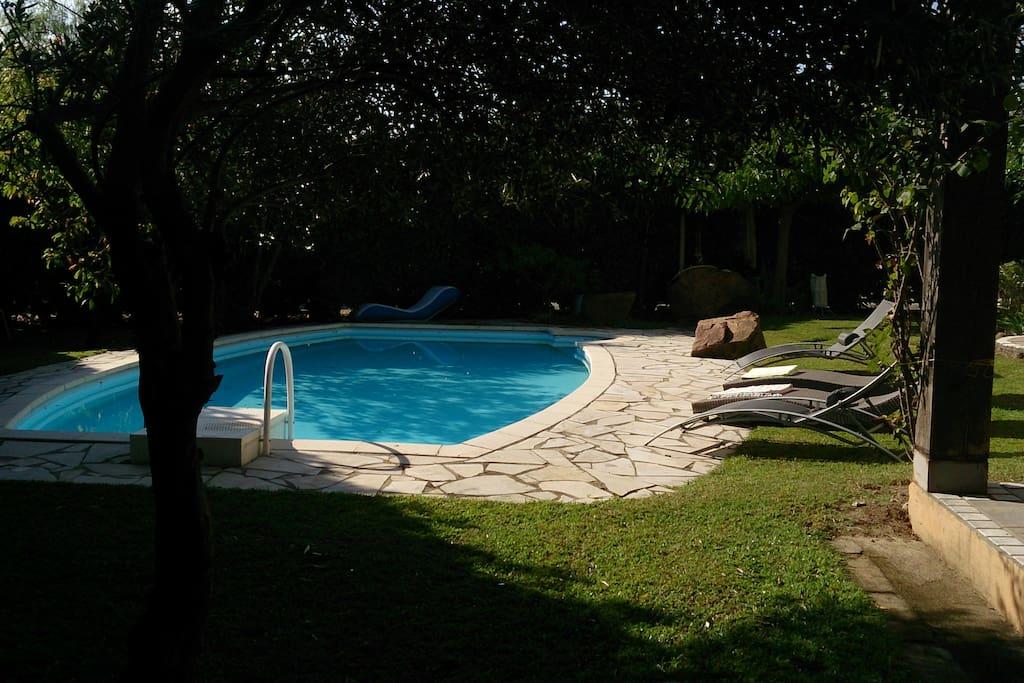 villa de charme avec piscine priv e maisons louer ghisonaccia corse france. Black Bedroom Furniture Sets. Home Design Ideas