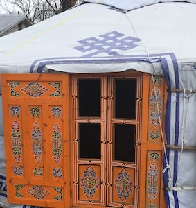 Authentic Mongolian Yurt West Virginia - Wardensville