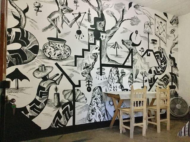 Casa RojoMecate Performance & Art