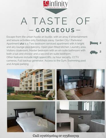 About the garden city apartment