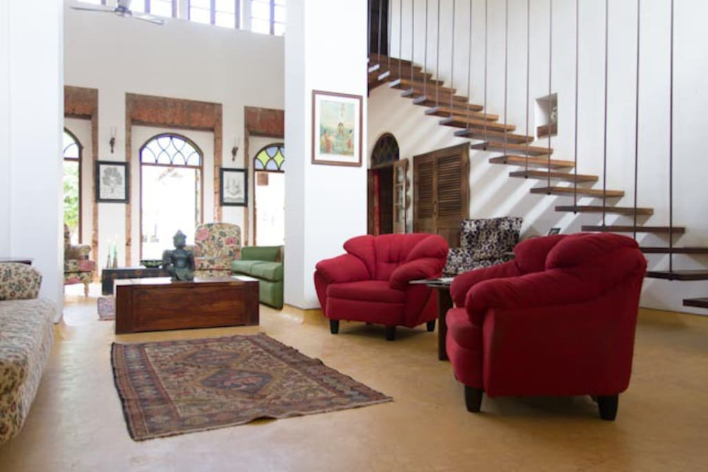 View of common living room