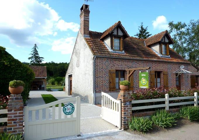 """Gite de Sologne """"vieilles galoches"""" - Dhuizon - Huis"""