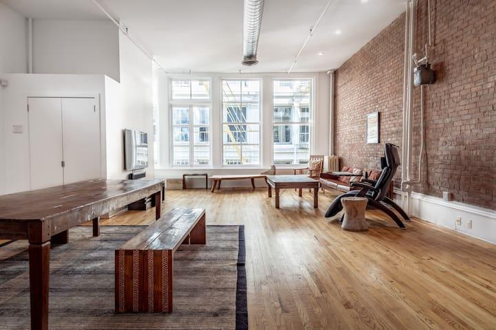 Best Block Clean Luxury Loft in SoHo