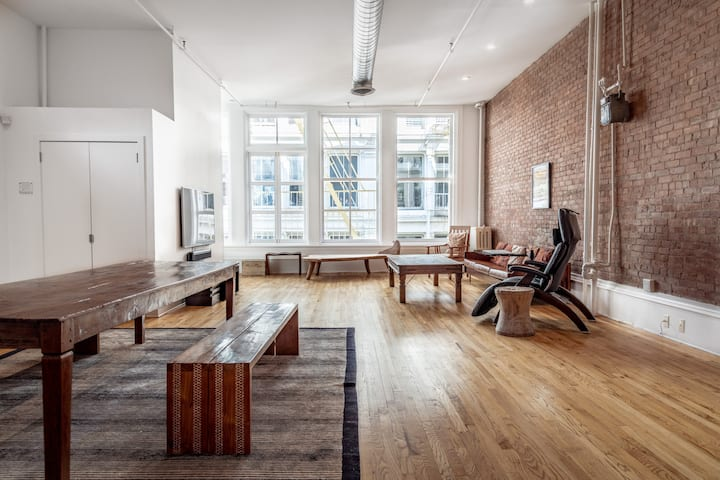 Best Block Clean Luxury Loft in SoHo