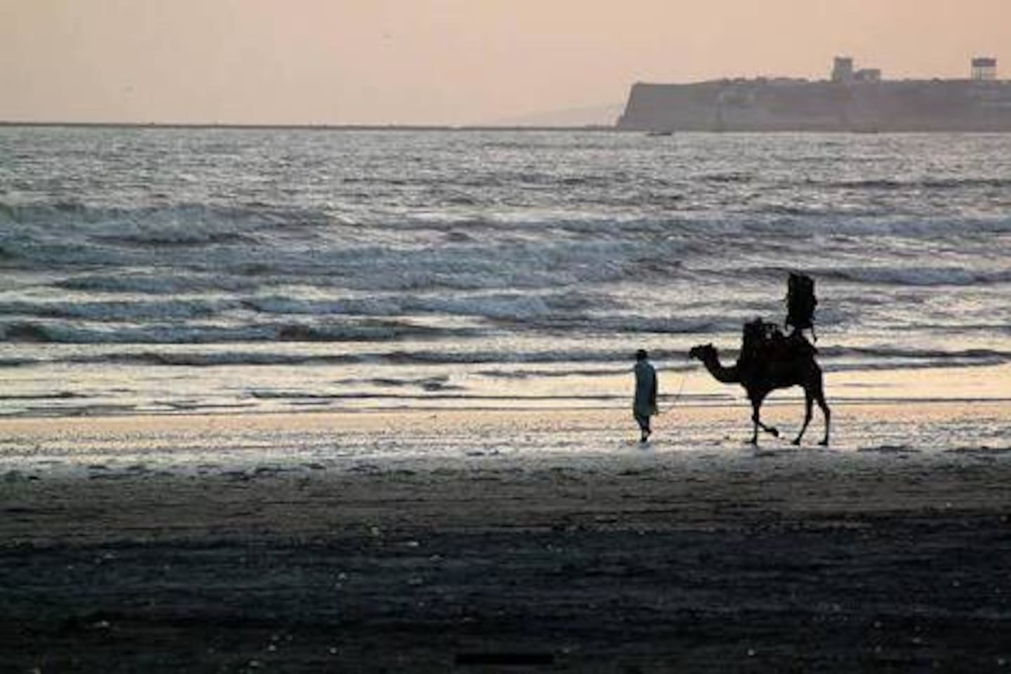 Karachi sea view is just 2 mins walk from this place