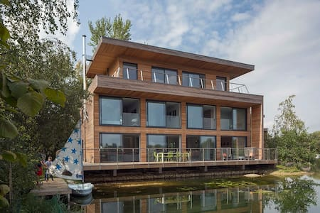 Lakes by Yoo Lodge 5 bed sleeps 6 adults + 4 kids - Lechlade-on-Thames - Hus