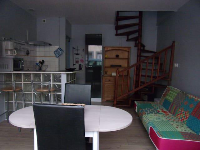 Appartement duplex à 300 m de la plage