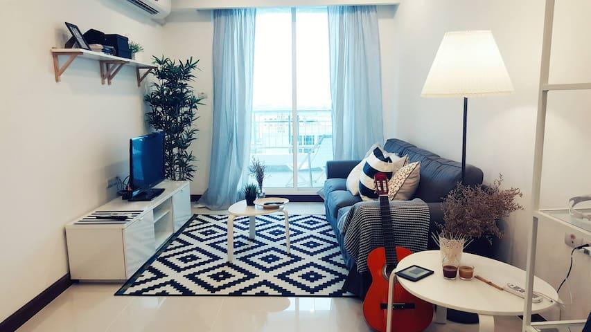 1 BEDROOM WITH BANGKOK SKYLINE AND RIVER FRONT - Bangkok - Apartment