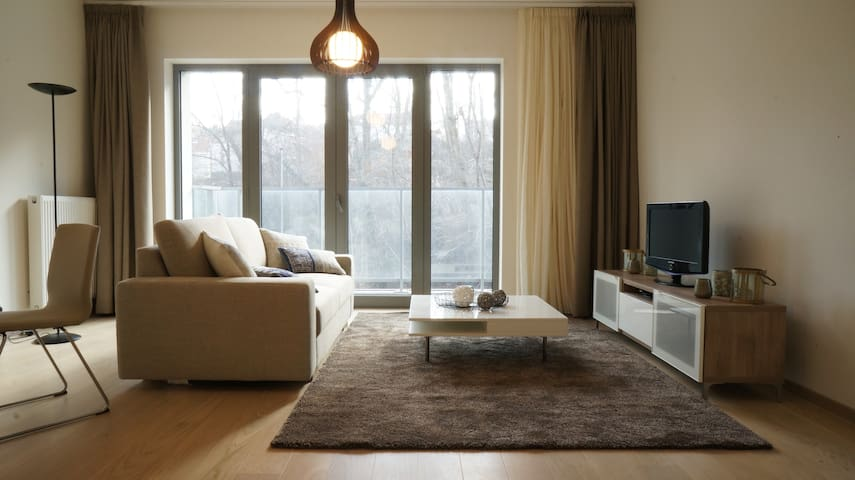 Chaleureux appartement 30min Bruxelles - Rixensart - Apartament